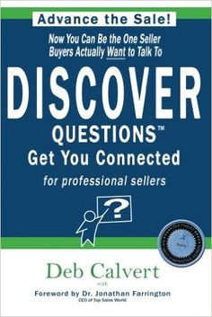 DISCOVER Questions Get You Connected: for professional sellers Book Review, You Got This, Connection, Author, This Or That Questions, Amazon, Reading, Books, Livros