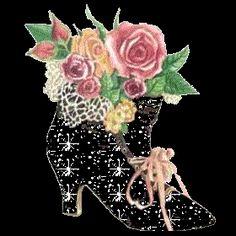 Sparkly High Heels Clip Art | Glitter gifs » High heels Glitter gifs