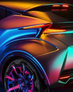 maximeguyon:  Lexus LF-SA concept car for Intersection Magazine n°25, 2015Maxime Guyon