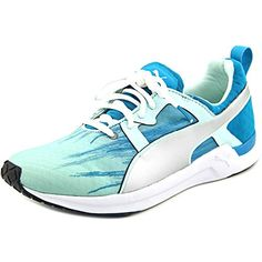 Puma Womens Pulse XT Fade Running Running Shoes Bay-Capri Breeze-White Size 8 * Want additional info? Click on the image.