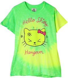 graphic T / ShopStyle(ショップスタイル): RUNWAY channel [Unif] Hangover kitty shitty