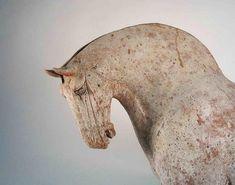 Dynamic Tang Dynasty Pottery Horse