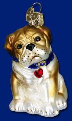 BERNAISE MOUNTAIN DOG BREED OLD WORLD CHRISTMAS GLASS CANINE ORNAMENT NWT 12379