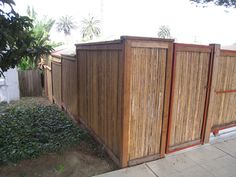 Bamboo screen fence