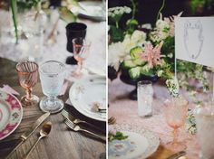 Signature Party Rentals | Wedding Inspiration | Modern Wedding | Wedding Reception | Party Planning | Decor | Wedding | Tablescape | One with Nature