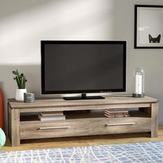 Looking for Rorie TV Stand TVs 65 Mercury Row ? Check out our picks for the Rorie TV Stand TVs 65 Mercury Row from the popular stores - all in one. Living Room Modern, Living Room Interior, Living Room Designs, Living Room Furniture, Living Room Decor, Tv Furniture, Cheap Furniture, Solid Wood Tv Stand, Muebles Living