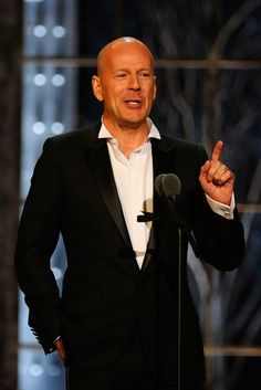 """Bruce Willis has supported George H.W. Bush, and was a speaker at the 2000 Republican Convention. But don't try to label him. He told a reporter in 2006: """"I'm sick of answering this  question. I'm a Republican only as far as I want a smaller government, I want less government intrusion. I want them to be fiscally responsible and I want these goddamn lobbyists out of Washington. Do that and I'll"""