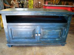 Custom Made Media Console by Barrio Antiguo In Houston. Credenza Sideboard, Hope Chest, Tv Sideboard, Storage, Console, Sideboard Console, Furniture, Rustic Media Console, Home Decor