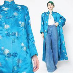 Alte chinesische Jacke wattiert asiatischen Jacke von honeymoonmuse