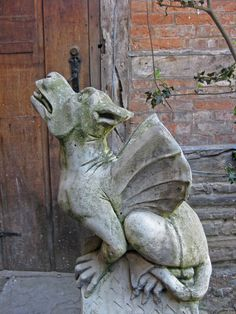 Grotesque in unknown location - great photo by And Fundylass on Flickr