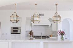 Kitchen Island Lanterns - Transitional - kitchen - Owens and Davis