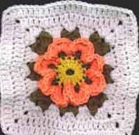 7 inch Blossom Square
