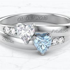 Personalized Promise Rings, Metals, Birthstones, Piercings, Jewelry Accessories, Engagement Rings, Note, Tattoos, Peircings