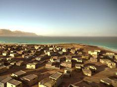 Digitally reconstructed coastal villas and duplexes of Pavlopetri, an ancient sunken greek city.