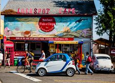 car2go will take you to the coolest spots in Seattle. https://seattle.car2go.com/