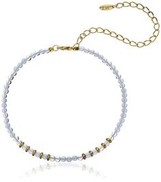 """Ettika Still Surprise You Opal and Gold-Plated Brass Choker Necklace, 11""""   5"""" Extender *** You can get additional details at the image link."""