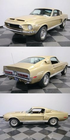 1968 Ford Mustang Shelby GT500 [Nicely Restored, Original Colors] Ford Mustang 1968, Ford Mustang Shelby Gt500, Car Sit, Rear Ended, Automatic Transmission, Cars For Sale, Restoration, The Originals, Colors