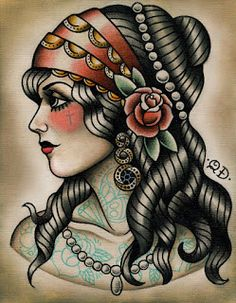 INK IT UP Traditional Tattoos: Interview with Quyen Dinh (Parlor Tattoo Prints)