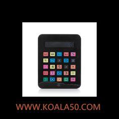 Calculadora iTablet Grande - 5,60 €  ¡La calculadora iTablet grande es lo más! Esta calculadora con forma de iTablet tiene hasta 8 dígitos y funciona con 1 pila LR1130 (incluida). Medidas: 24 x 19 x 1,2 cm. Si quieres estar a la...  http://www.koala50.com/otro-material-escolar/calculadora-itablet-grande