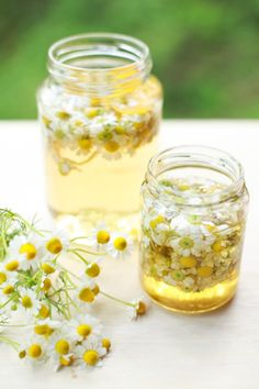 Chamomile Infused Wine: 17 Floral Cocktails That Are *Almost* Too Pretty to Drink via Brit + Co
