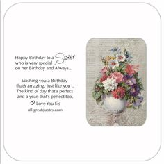 Image result for happy birthday to a special sister images