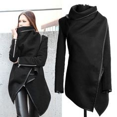 2014 Womens Winter Woolen Overcoat Fashion Trench Woolen Coat_Coats_Women_Women's Fashion Zone & Best Price Clothes