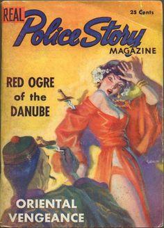 REAL POLICE STORY MAGAZINE, 1937 - Vol. 1, #1