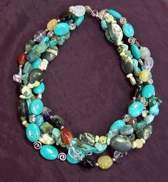 Four Strand Chinese Turquoise Necklace  Sale starts Sat Apr 27 8:00 AM, ends Sun Apr 28 7:59 AM Pacific Time. Discounts 50% off. Tens of thousands of items.