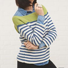 Ravelry: Classic Stripes Breton Top pattern by Simone Francis