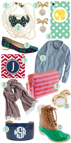 it is confirmed, i am a prepster.    Holiday Gift Guide: For the Prepster