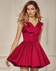 Designer Clothes, Shoes & Bags for Women Pink Prom Dresses, Pink Dress, Cocktail Dress Prom, Formal Gowns, Cool Girl, Hot Pink, Jones Jones, Satin, Lipsy