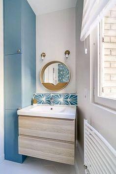 Relooker Une Salle De Bain 14 Idees Pour Un Nouveau Souffle Meuble Vasque Bois Meuble Vasque Ikea Meuble Vasque
