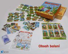 Akce ostrov - první stolní hra pro předškoláky. Při hraní si děti osvojí všechny dovednosti, které jsou třeba k zápisu do první třídy a navíc - je to zábava! www.akceostrov.cz