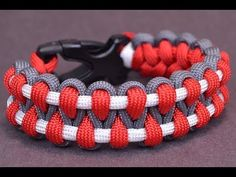 Make an Outstanding Paracord Survival Bracelet - BoredParacord - YouTube