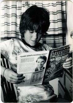 vintage comic readers