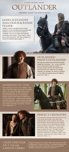 Outlander Newsletter Sam Heughan to JAMMF