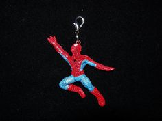 Spiderman Flying Zipper Pull or Purse charm by JudysEtsyStore, $2.99....on Etsy.com
