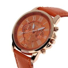Feitong New Casual Women Dress Leather Watch Multi-color