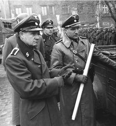 Ralph Fiennes (right) in Schindler's List 1993