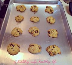 Healthy Chocolate Chip Paleo Cookies!