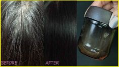 Magical Oil to Change White Hair to Black Naturally, Turn White Hair to Black Permanently in 7 Days guaranteed