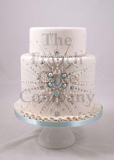 wedding cake pearls piece montee mariage perles bruidstaart - Piece Montee Mariage