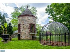 Chicken coop for the rich and famous