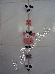 mobile amiga secreta (MARIA BONITA by Gerriana Barbosa) Tags: mobile galinha feltro cozinha