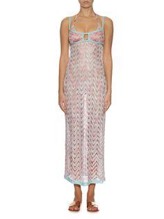 Chevron-knit maxi dress | Missoni Mare | MATCHESFASHION.COM UK
