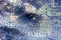 """Chris Hadfield  """"The Mexican Colima volcano having a quiet smoke. Quiet is good."""""""