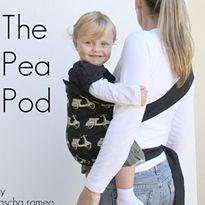 The Pea Pod Hip Carrier Tutorial