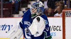 Cory Schneider made 23 saves and Henrik Sedin had a two-point night as the Vancouver Canucks defeated the Edmonton Oilers Henrik Sedin, Playoff Picture, Taylor Hall, First Period, Nhl Games, Lifestyle Trends, Edmonton Oilers, Vancouver Canucks, Motorcycle Jacket