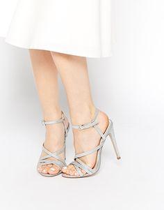 Image 1 ofASOS HASCOMBE Heeled Sandals