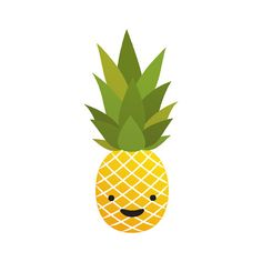 Pineapple - Temporary Tattoo (Set of 1)